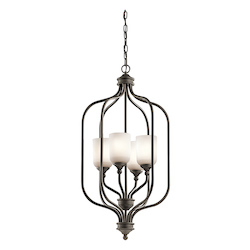 Foyer Chandelier 4Lt