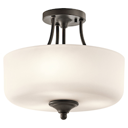 Semi Flush 2Lt