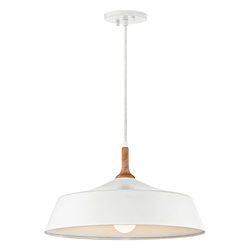 White Danika Pendant Light