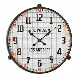 Uttermost Max Aged Wall Clock - 297695