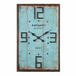 Uttermost Antiquite Distressed Wall Clock - 297696