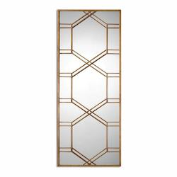 Uttermost Kennis Gold Leaf Leaner Mirror - 297782