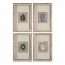 Uttermost Agate Stone, S/4 - 297802