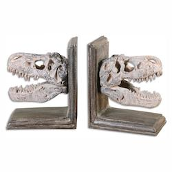 Uttermost Dinosaur Bookends, S/2 - 297831