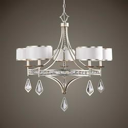 Tamworth 5 Light Silver Champagne Chandelier - 297877