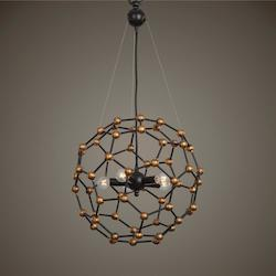 Molecule 5 Light oil Rubbed Bronze Pendant - 297897