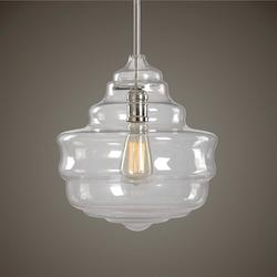 Bristol 1 Light Beehive Glass Pendant - 297898