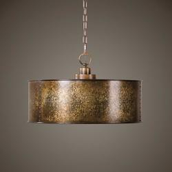 Wolcott 3 Light Golden Pendant - 297905