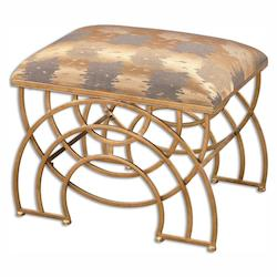 Uttermost Marcedes Gold Small Bench - 297928