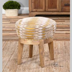 Hendrik Fabric Swivel Stool - 297931