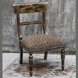 Tambra Leopard Print Accent Chair - 297954