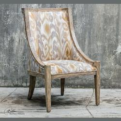 Alabaster Driftwood Accent Chair - 297955