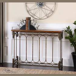 Harbin Metal Console Table - 297965