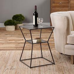 Auryon Iron Accent Table - 297975
