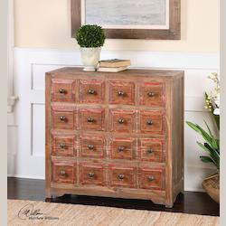 Rylee Weathered Drawer Chest - 298012