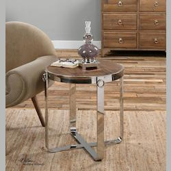 Berdine Wooden Side Table - 298017