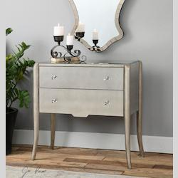 Radha Mirrored Console - 298027