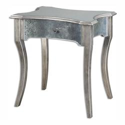 Uttermost Jovannie Mirrored Accent Table - 298034