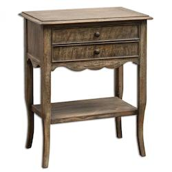 Uttermost Doherty Driftwood Side Table - 298043