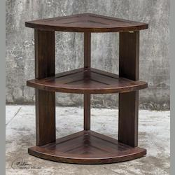 Claro Hickory Accent Table - 298051