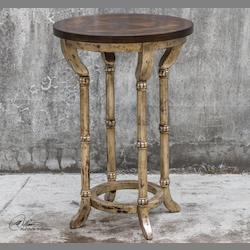 Malo Round Accent Table - 298057