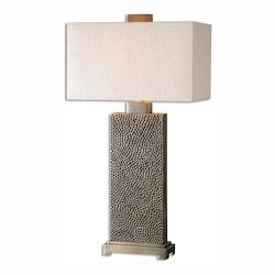 Blackened Brown With Coffee Bronze Canfield 1 Light Table Lamp
