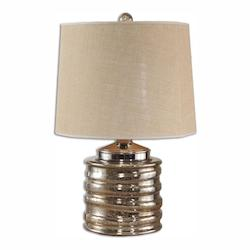 Uttermost Camerano Mercury Glass Table Lamp - 298170