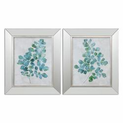 Uttermost Spring Leaves Framed Art, S/2 - 298246