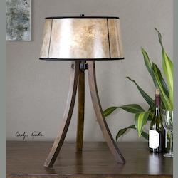 Maloy Wood Legs Table Lamp - 298271