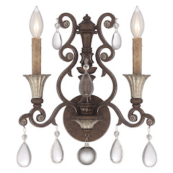 St. Laurence 2 Light Ada Sconce