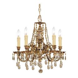 Brass Up Chandelier