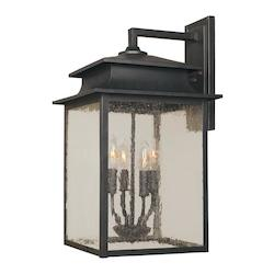 Four Light Wall Lantern