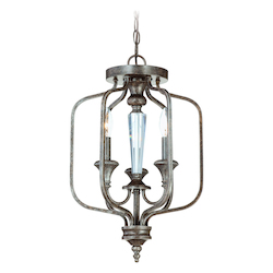 3 Light Convertible Semi Flush - 343812