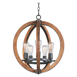 Bodega Bay-Single-Tier Chandelier
