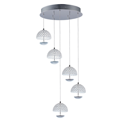 Parasol-Multi-Light Pendant