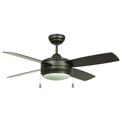 44In. Ceiling Fan With Blades Included
