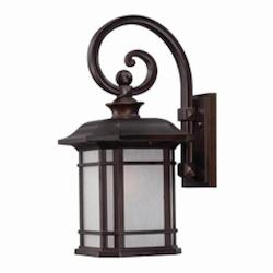 Somerset Collection Wall-Mount 1-Light Outdoor Architectural Bronze Light Fixtur