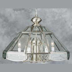Silver Up Chandelier - Forte 3054-07-34