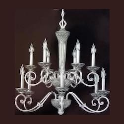 Silver Up Chandelier - Forte 7017-12-95