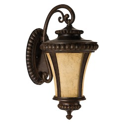 1 Light Outdoor Wall Sconce in Peruvian Finish - 371944