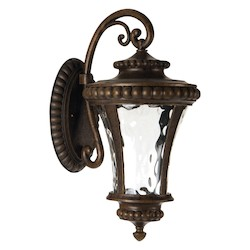 1 Light Outdoor Wal Mount in Peruvian Bronze Finish - 371946