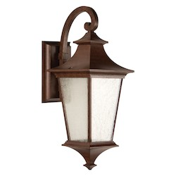 2 Light Outdoor Wall Sconce with Aged Bronze Finish - 371947