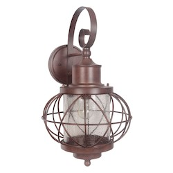 1 Light Extra Large Wall Mount with Aged Bronze Finish - 371964