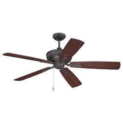 Ceiling Fan with Blades in Espresso Finish - 371965