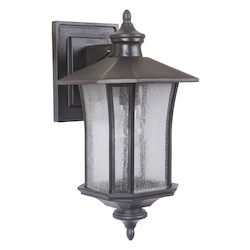 1 Light Wall Mount with Oiled Bronze Finish - 371973