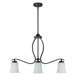 3 Light Island Pendant in Aged Bronze Finish - 372031