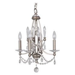 4 Light Chandelier in Athenian Obol Finish - 372087