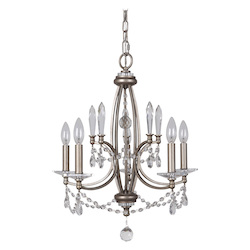 5 Light Chandelier in Athenian Obol Finish - 372088