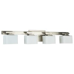 4 Light Bath Vanity with Brushed Nickel Finish - 372105