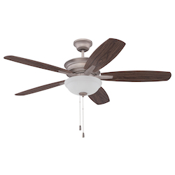 Ceiling Fan with Blades in Athenian Obol Finish - 372223